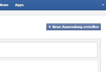 Facebook-App erstellen